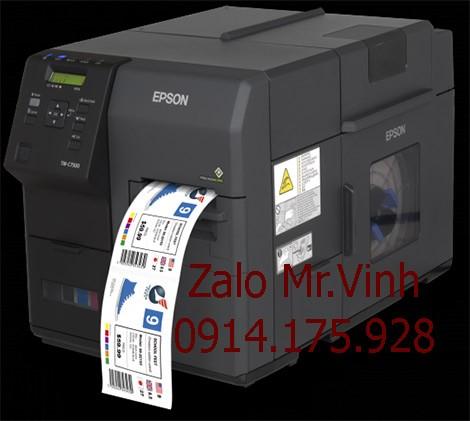 Máy in màu Epson C7500 là dòng sản phẩm mới