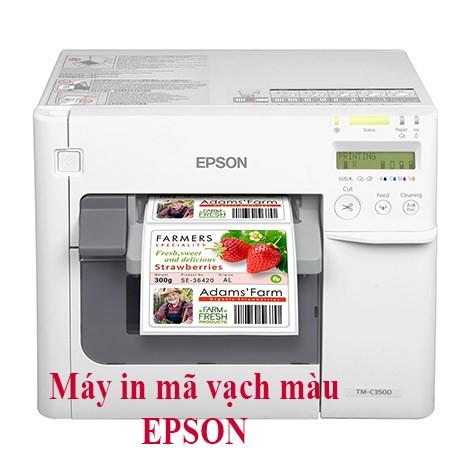 Máy in mã vạch màu Epson C3500