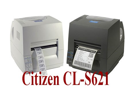 Máy in tem nhãn mã vạch Citizen CL-S621