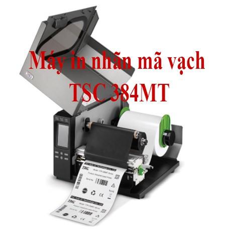 Máy in tem nhãn mã vạch TSC 384MT