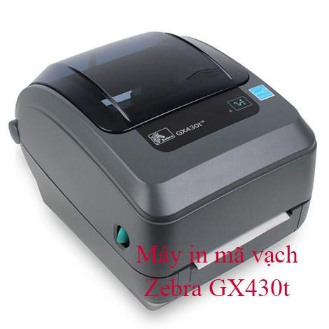 Máy in tem để bàn Zebra GX430T
