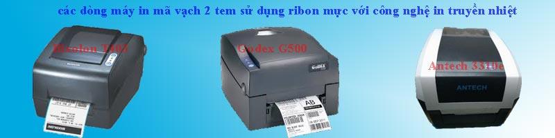máy in tem mã vạch 2 tem