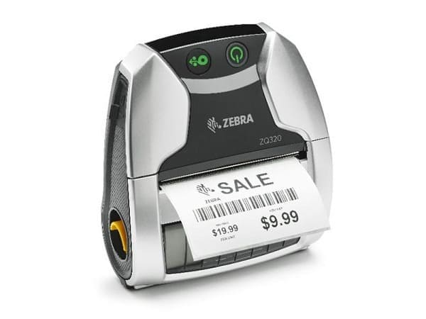 Mini barcode printer ZQ320