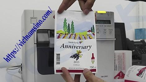 Cách chọn máy in tem mã vạch màu tốt nhất