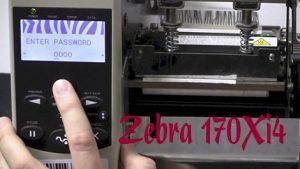 Máy in mã vạch Zebra 170Xi4 giá rẻ 2020