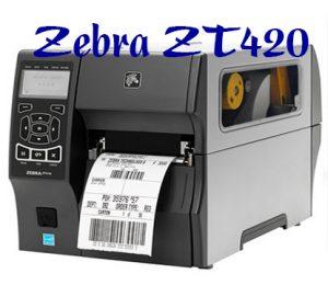 Máy in mã vạch Zebra ZT420 giá rẻ 2020