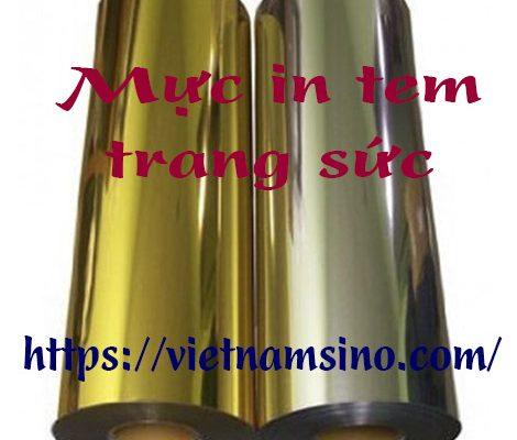 Mực in tem vàng giá rẻ, uy tín, chất lượng