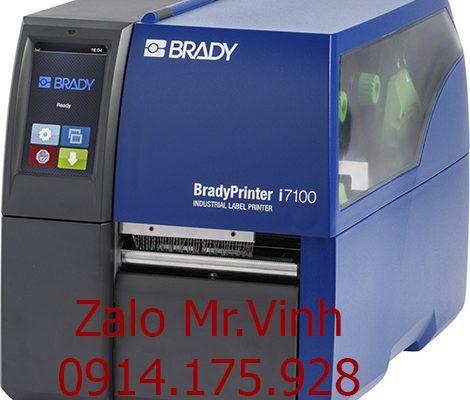 Bán Máy In Nhãn Công Nghiệp Brady I7100 300dpi