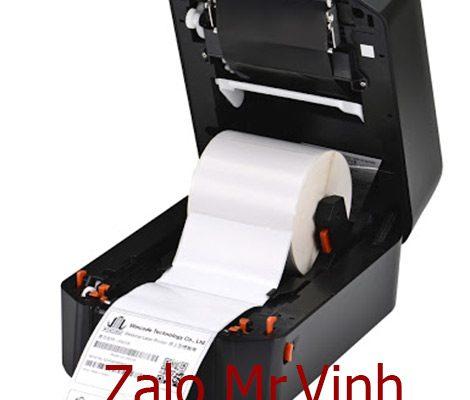 Bán máy in mã vạch shop quần áo Wincode LP423N