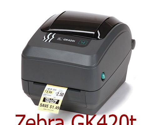 Bán máy in tem dán mã vạch Zebra GK420t
