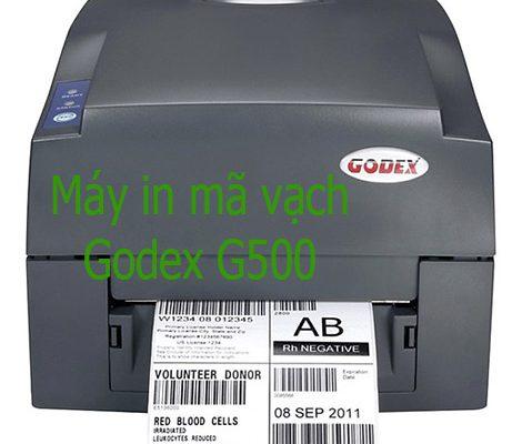 Bán máy in tem nhãn hàng hóa Godex G500