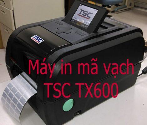 Máy in TSC TX600 600dpi giá rẻ chính hãng 2020