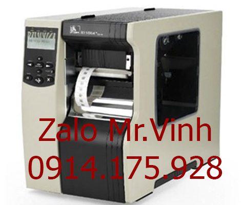 Máy in mã vạch đánh dấu sản phẩm Zebra 110Xi4