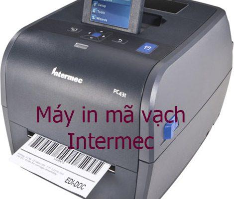 Máy in mã vạch đơn hàng Intermec tại TP.HCM