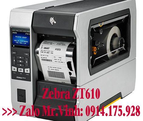 Bán máy in tem nhãn dán Zebra ZT610