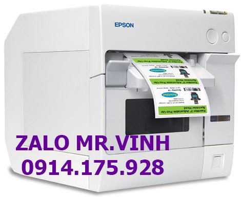 Báo giá máy in màu Epson TM-C3400