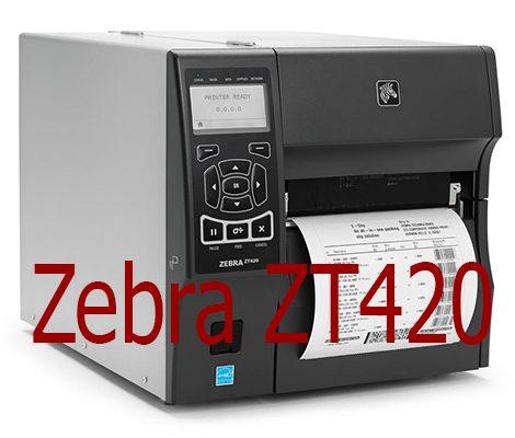 Máy in công nghiệp ZT420 chính hãng, miễn phí lắp đặt
