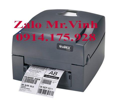 Bán máy Godex G530 có tốc độ in102mm/s