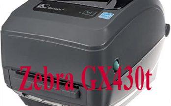 Zebra GX430t là máy in mã vạch để bàn nên dùng