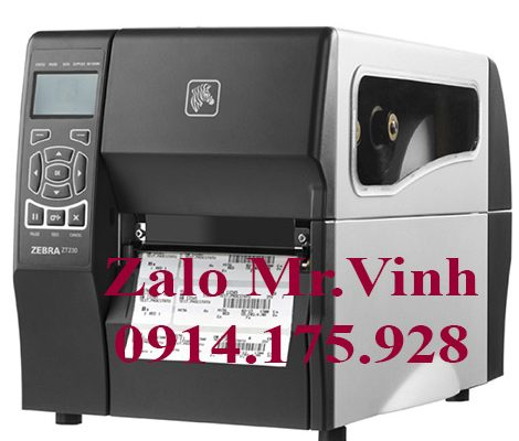 Chỉnh máy in mã vạch Zebra ZT230