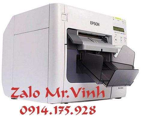 Mua máy in nhãn phun màu Epson TM-C3500