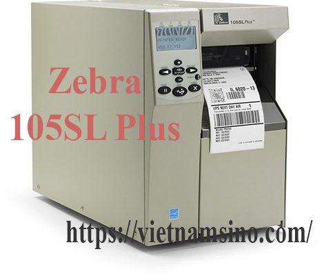 Zebra 105SL Plus là máy in nhãn của Mỹ