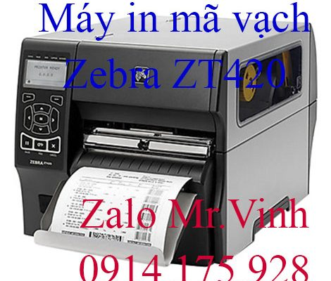 Ưu điểm máy in Zebra ZT420 chính hãng Mỹ