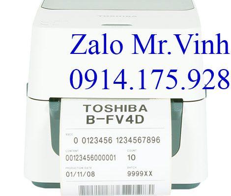Máy in Toshiba B-FV4D chính hãng bao test