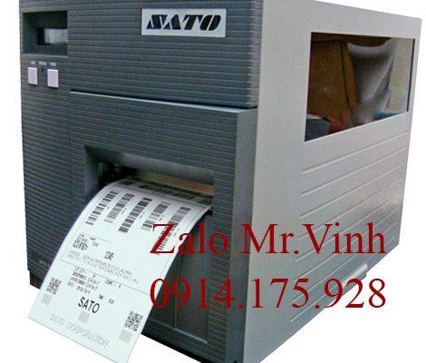 Máy in tem Sato CL412e giá rẻ, bền chắc