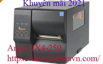 Argox IX4 250 GIÁ RẺ NHẤT NĂM 2021